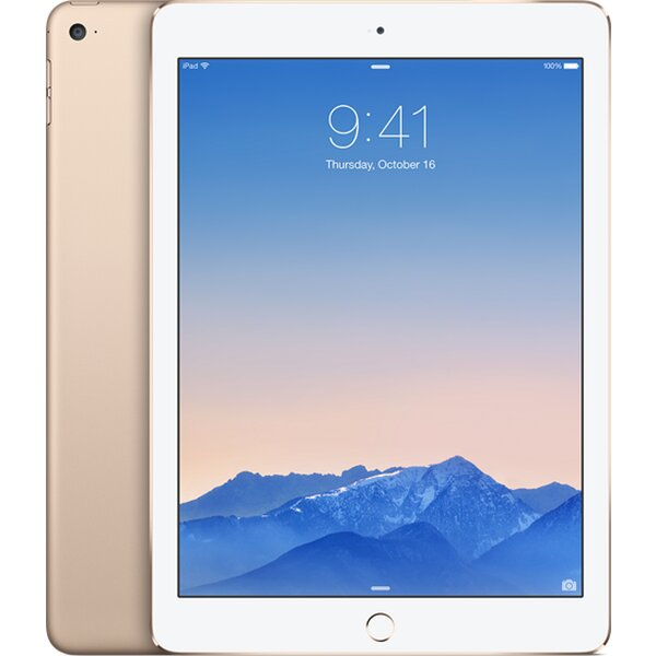 Apple iPad Air 2, 128GB WiFi+Cellular Zlatá