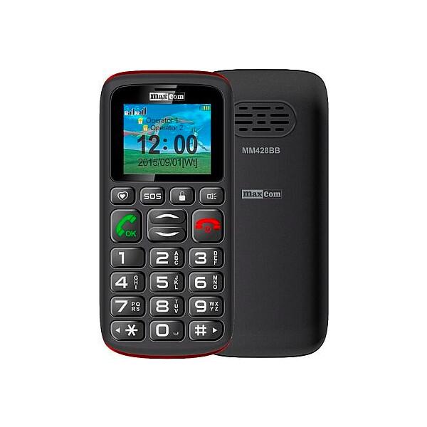 Maxcom MM428 Dual SIM Černá