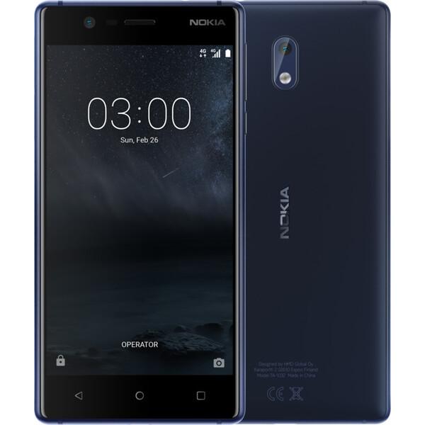 Nokia 3 Single SIM Modrá