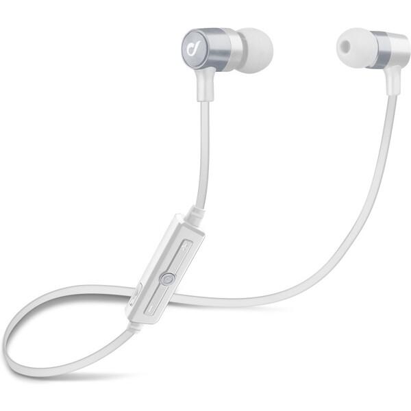Cellularline Unique Design bezdrátová sluchátka pro iPhone stříbrná Stříbrná