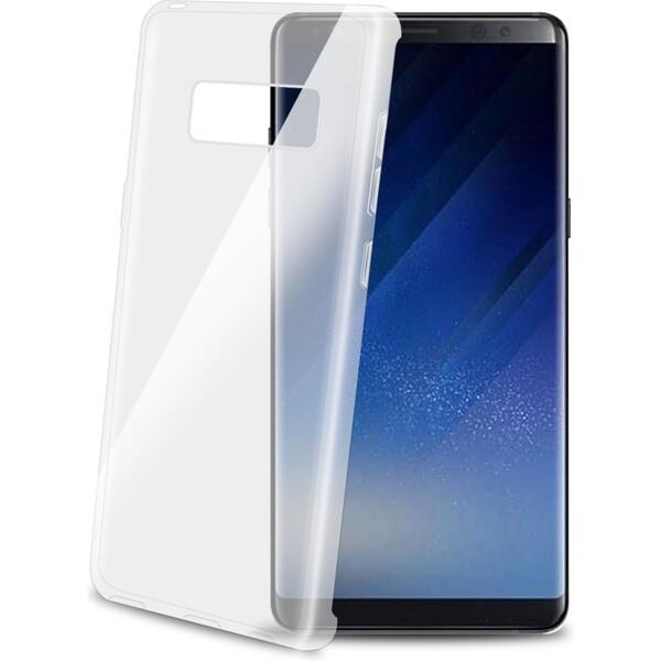 Pouzdro TPU CELLY Gelskin Galaxy Note 8 (GELSKIN674) Čirá