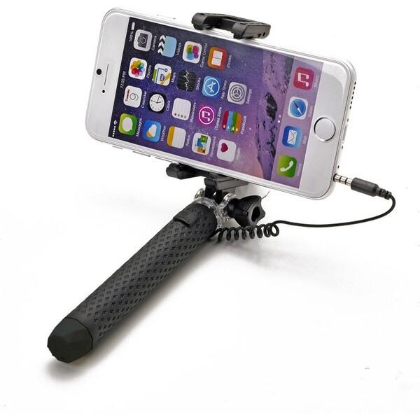 Bluetooth selfie stick CELLY Mini, černá Černá