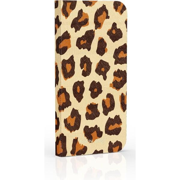 Happy Plugs Flip Case kryt Apple iPhone 6/6S leopard