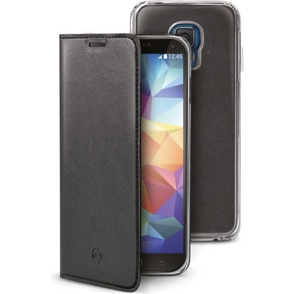 CELLY Buddy flip pouzdro Samsung Galaxy S5 / S5 Neo černé