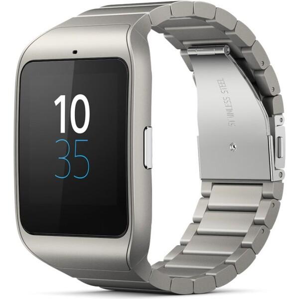 Sony SmartWatch SW3 Stříbrná