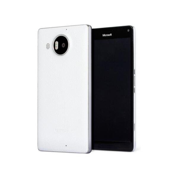 MOZO zadní kryt Microsoft Lumia 950 XL bílý