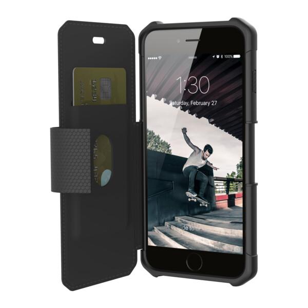 UAG metropolis odolné flipové pouzdro iPhone 6s Plus/7 Plus černé