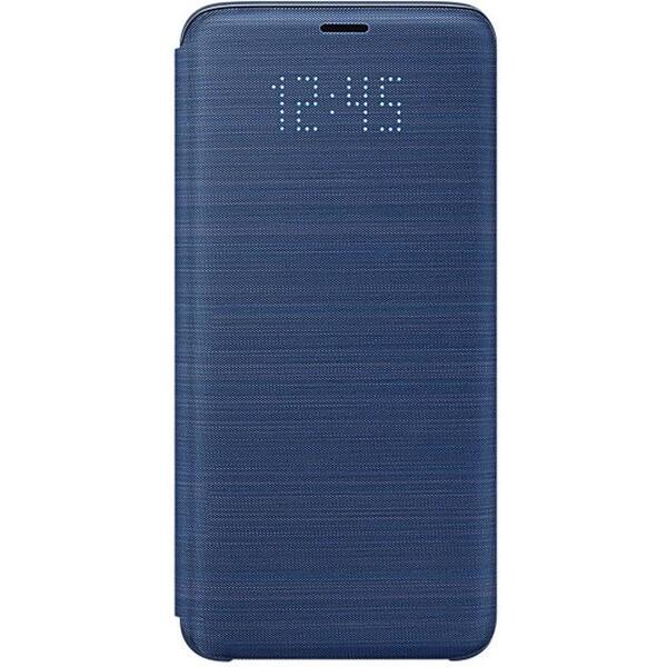 Samsung flipové pouzdro LED View Samsung Galaxy S9 modré EF-NG960PLEGWW Modrá