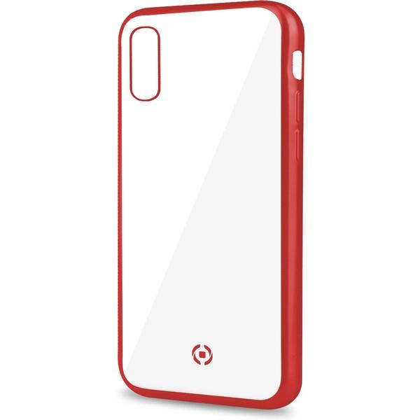 CELLY Laser pouzdro Apple iPhone XS Max červené