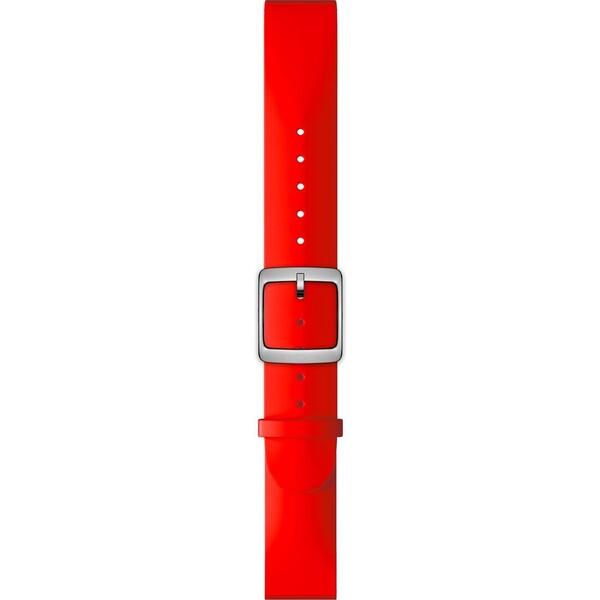 Nokia Accessory silikonový řemínek (20mm) Activité Steel HR (40mm) červený NOK-SIL-20-RD Červená