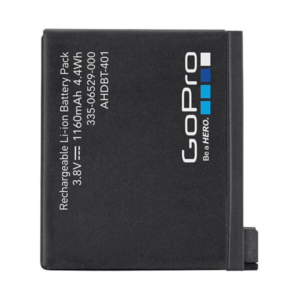 Baterie GoPro AHDBT-401 Černá
