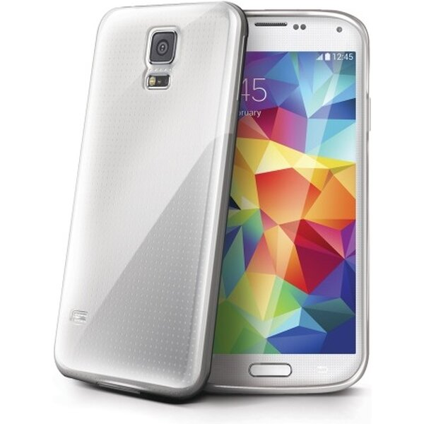 Pouzdro Celly Gelskin Samsung Galaxy S5 mini čiré Čirá