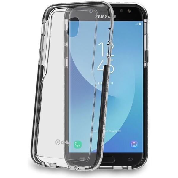 Pouzdro CELLY Hexagon Zadní Samsung Galaxy J5 2017 černé Černá