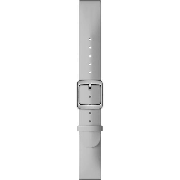Nokia Accessory silikonový řemínek (18mm) Activité Steel a Steel HR (36mm) šedý NOK-SIL-18-GR Šedá