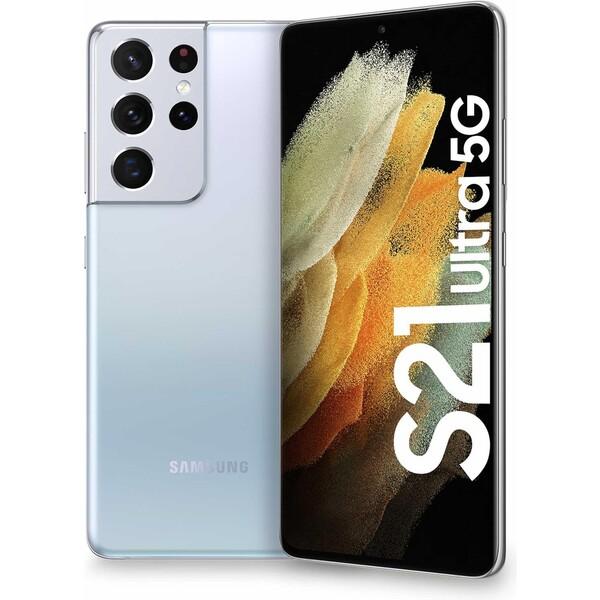 Samsung Galaxy S21 Ultra 5G 16GB/512GB stříbrný