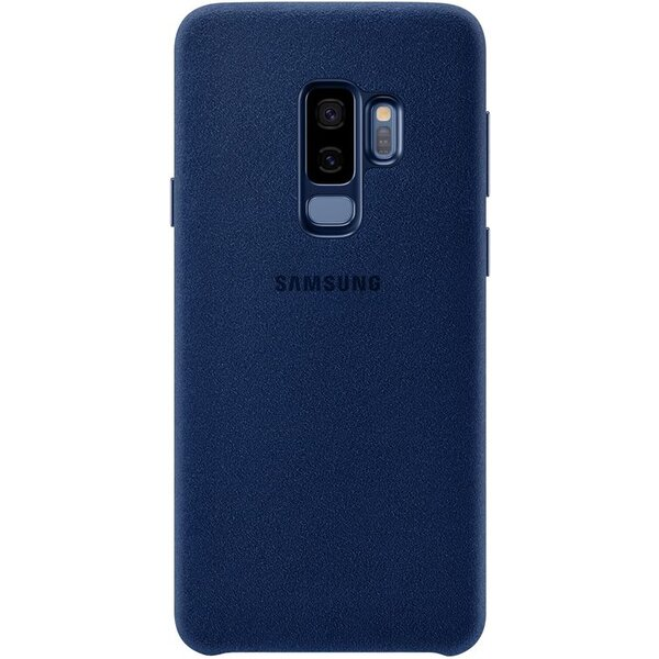 Samsung zadní kryt z kůže Alcantara Samsung Galaxy S9+ modrý EF-XG965ALEGWW Modrá