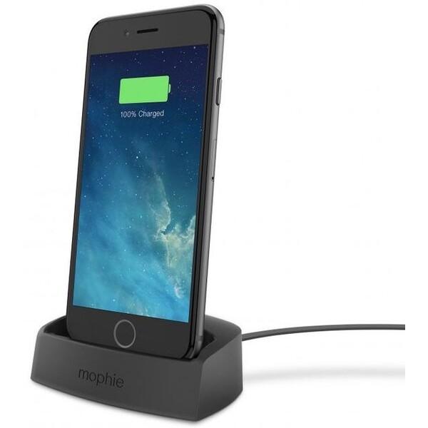 Mophie stolní nabíječka pro Apple iPhone 8/7/6S/6/SE/5C/5S/5 černá Černá