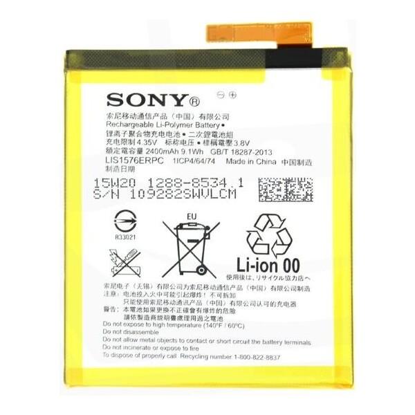 1288-8534 Sony Baterie 2400mAh Li-Pol (Bulk) Černá