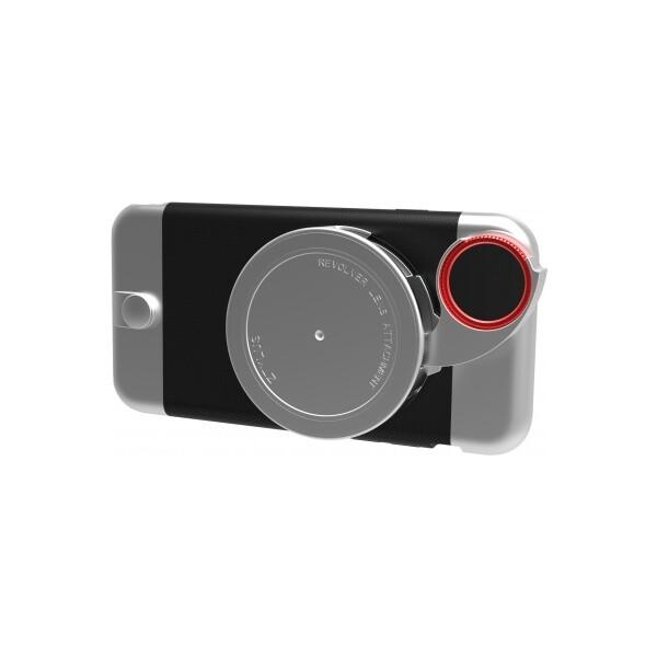 Ztylus Revolver Metal sada pouzdra a objektivů pro iPhone 6/6S stříbrná