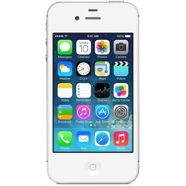 Apple iPhone 4S, 16GB Bílá
