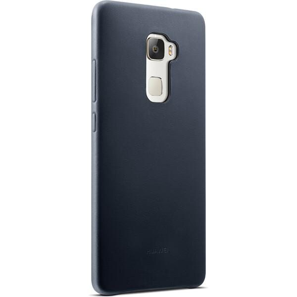 Huawei kožené pouzdro Mate S modré
