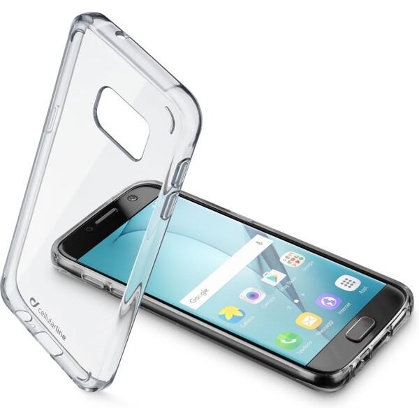 Pouzdro Cellularline CLEAR DUO Samsung Galaxy A5 čiré Čirá