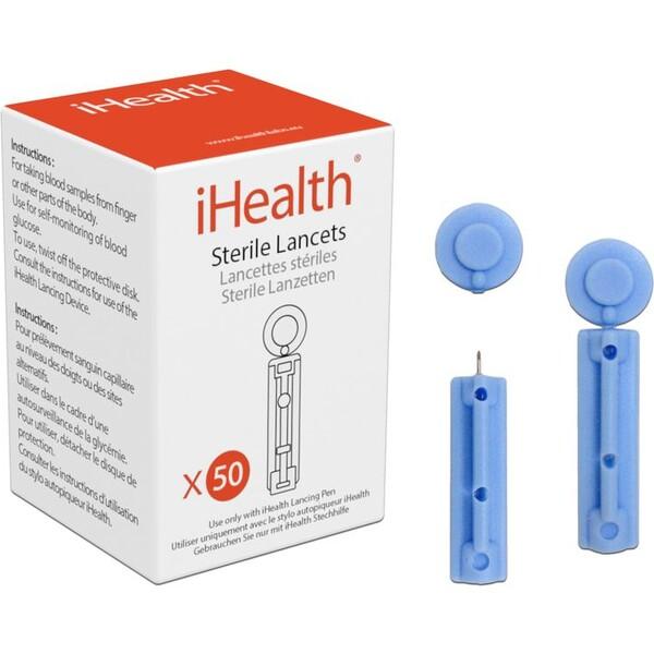 iHealth Lancety 30Gl Modrá