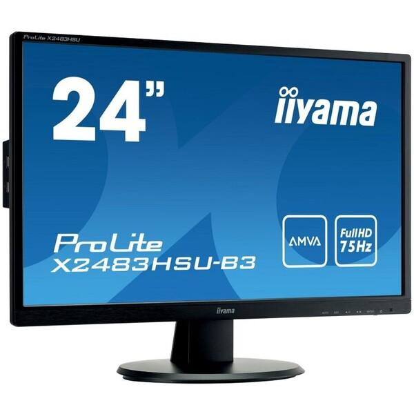 """Iiyama 24"""" FHD AMVA X2483HSU-B3"""