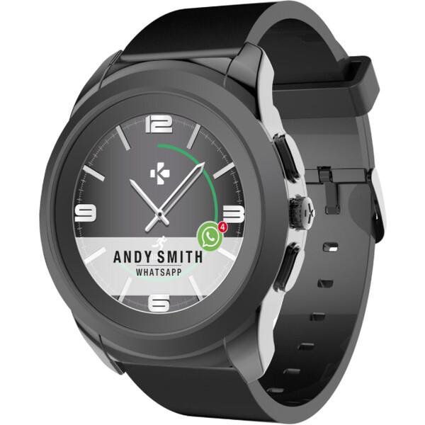 508632669c3 MyKronoz ZeTime Elite Metal chytré hodinky 44 mm černé
