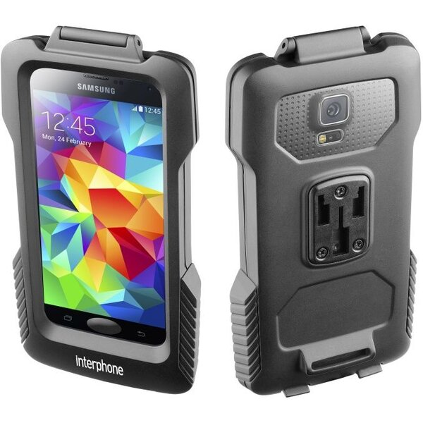 Interphone voděodolné pouzdro na řídítka pro Samsung Galaxy S5 černé