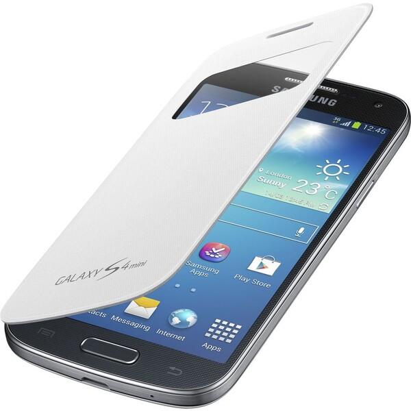 Samsung EF-CI919BW flip pouzdro S-view Galaxy S4 mini bílé