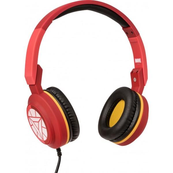 Tribe Marvel Iron Man Pop sluchátka červená