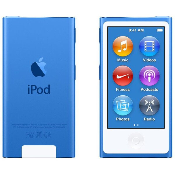 Apple iPod nano 16GB MKN02HC/A Modrá
