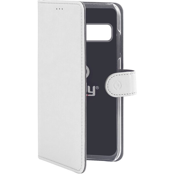 CELLY Wally pouzdro Samsung Galaxy S10+ bílé