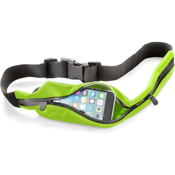 Sportovní pouzdro CellularLine WAISTBAND RUNNING s kapsou na příslušenství, limetková WAISTBANDL Zelená