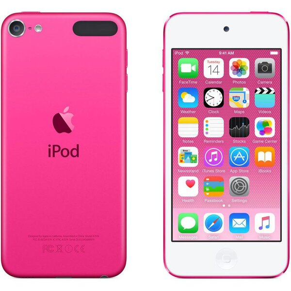 Apple iPod touch 16GB MKGX2HC/A Růžová