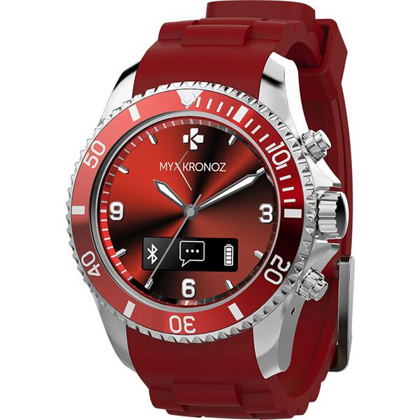 Mykronoz Smartwatch ZeClock Červená