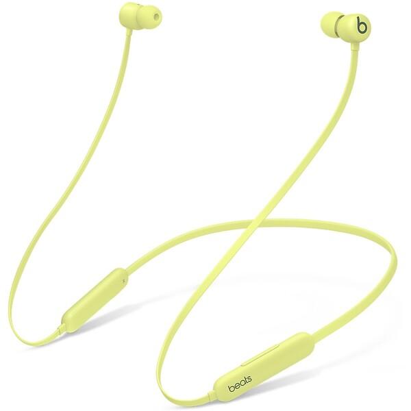 Beats Flex bezdrátová sluchátka citrónově žlutá
