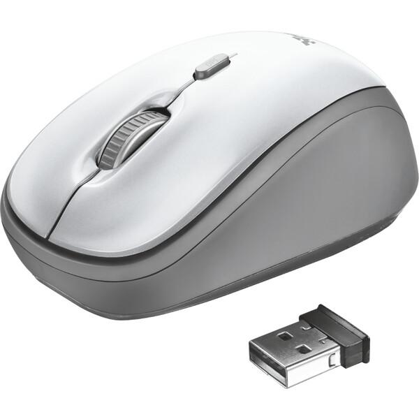 Trust Yvi bezdrátová myš bílá