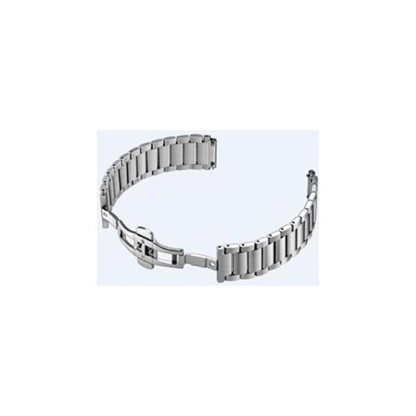 Huawei Stainless Steel řemínek Watch W1 Stříbrná