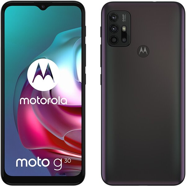 Motorola Moto G30 6+128GB DS GSM tel. Phantom Black
