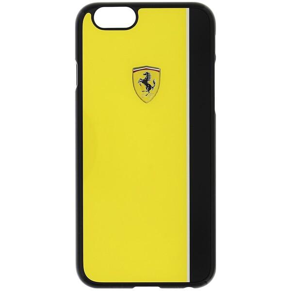 Pouzdro ferrari scuderia hard case žluté/iphone 5s/se Žlutá
