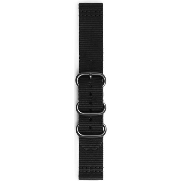 Samsung textilní řemínek Braloba Samsung Gear Sport černý GP-R600BREECAA Černá