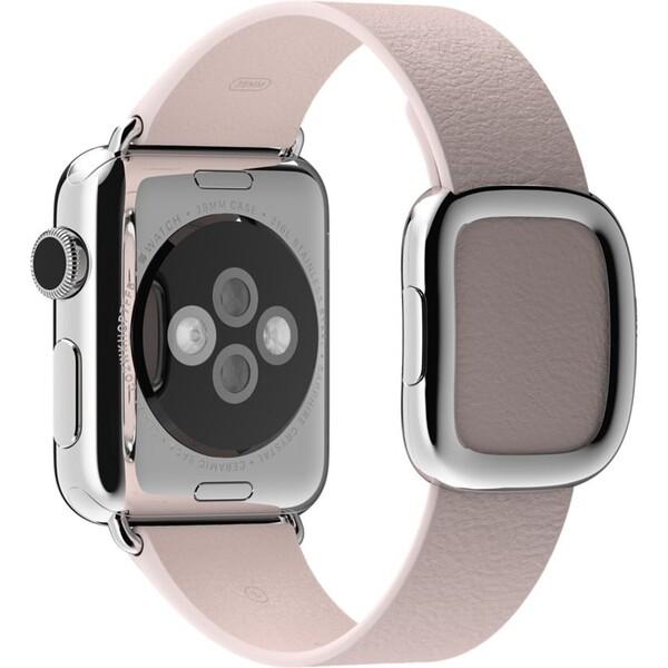 Apple Watch řemínek s moderní přezkou 38mm S růžový