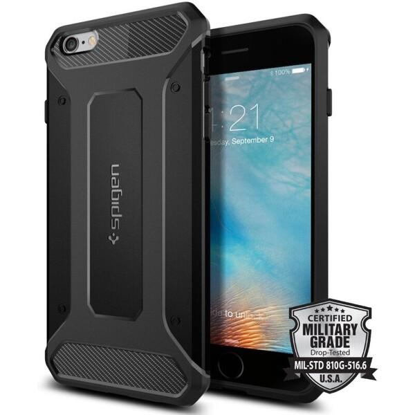 Spigen Rugged Armor odolné pouzdro Apple iPhone 6s Plus černé