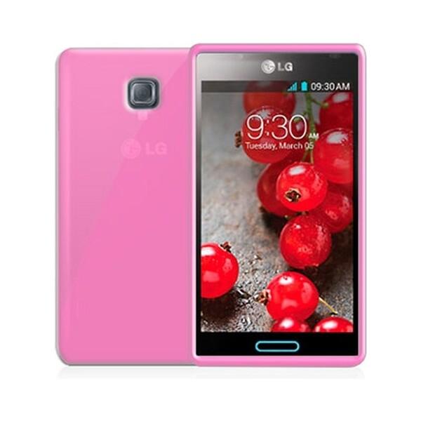 CELLY Gelskin pouzdro LG Optimus L7 II růžové