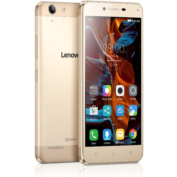 Lenovo K5 Dual SIM LTE zlatý