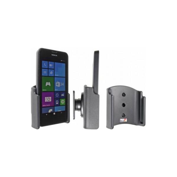 Brodit držák do auta na Nokia Lumia 630/630DS bez pouzdra, bez nabíjení 511643 Černá