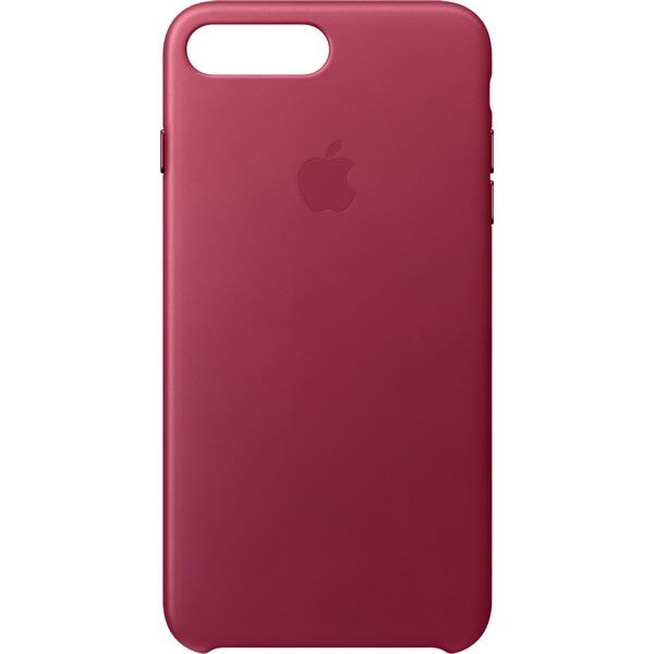 Pouzdro Apple Leather Case iPhone 8 Plus / 7 Plus - malinové Malinová