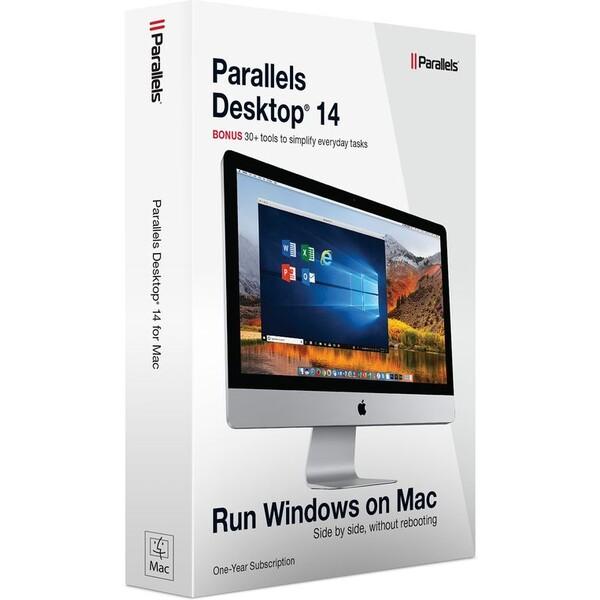 Parallels Desktop 14 Retail Box 1yr EU PD14-BX1-1Y-EU